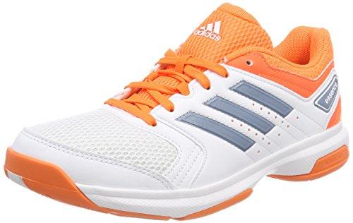 adidas Damen Essence Handballschuhe, weiß-orange