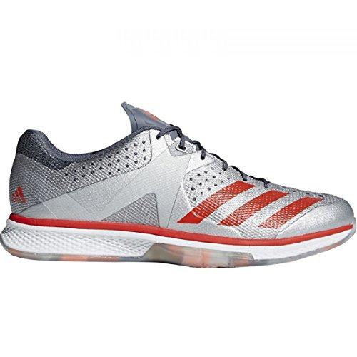 adidas Herren Counterblast Handballschuhe rot-grau