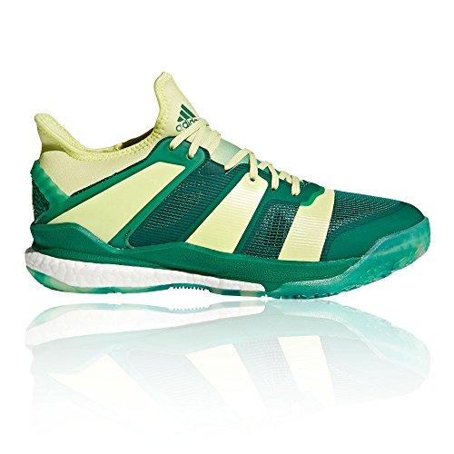 adidas Herren Stabil X Handballschuhe, grün